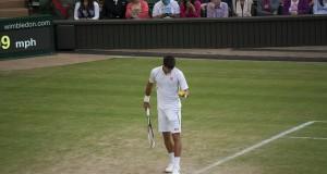 Djokovic serve