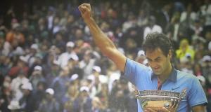 Roger Federer Champion