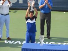 Kei Nishikori Wins 2015 Citi Open Title