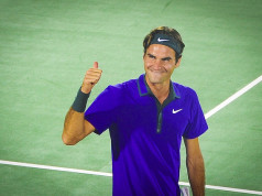 Roger Federer Thumbs Up Puns