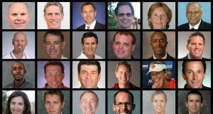 College Tennis Coaches Collage