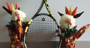Thanksgiving Tennis Turkeys Giving Thanks