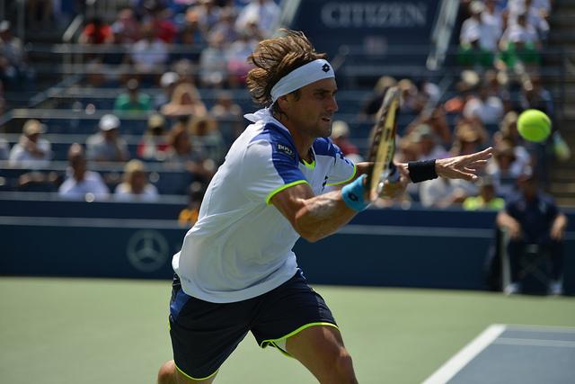 David Ferrer - Playing Big Points