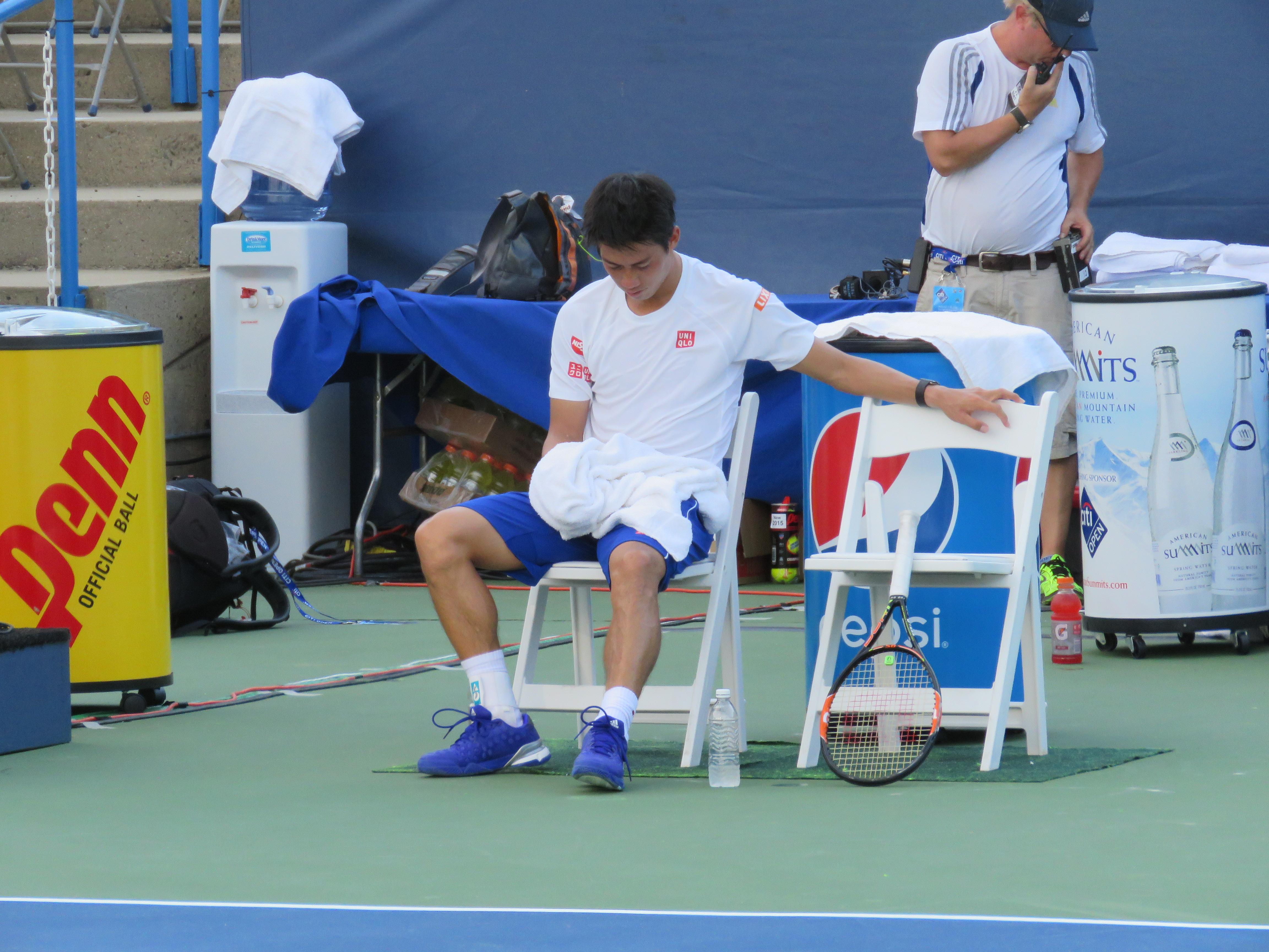 Losing Momentum: Lessons Learned - Photo of Kei Nishikori