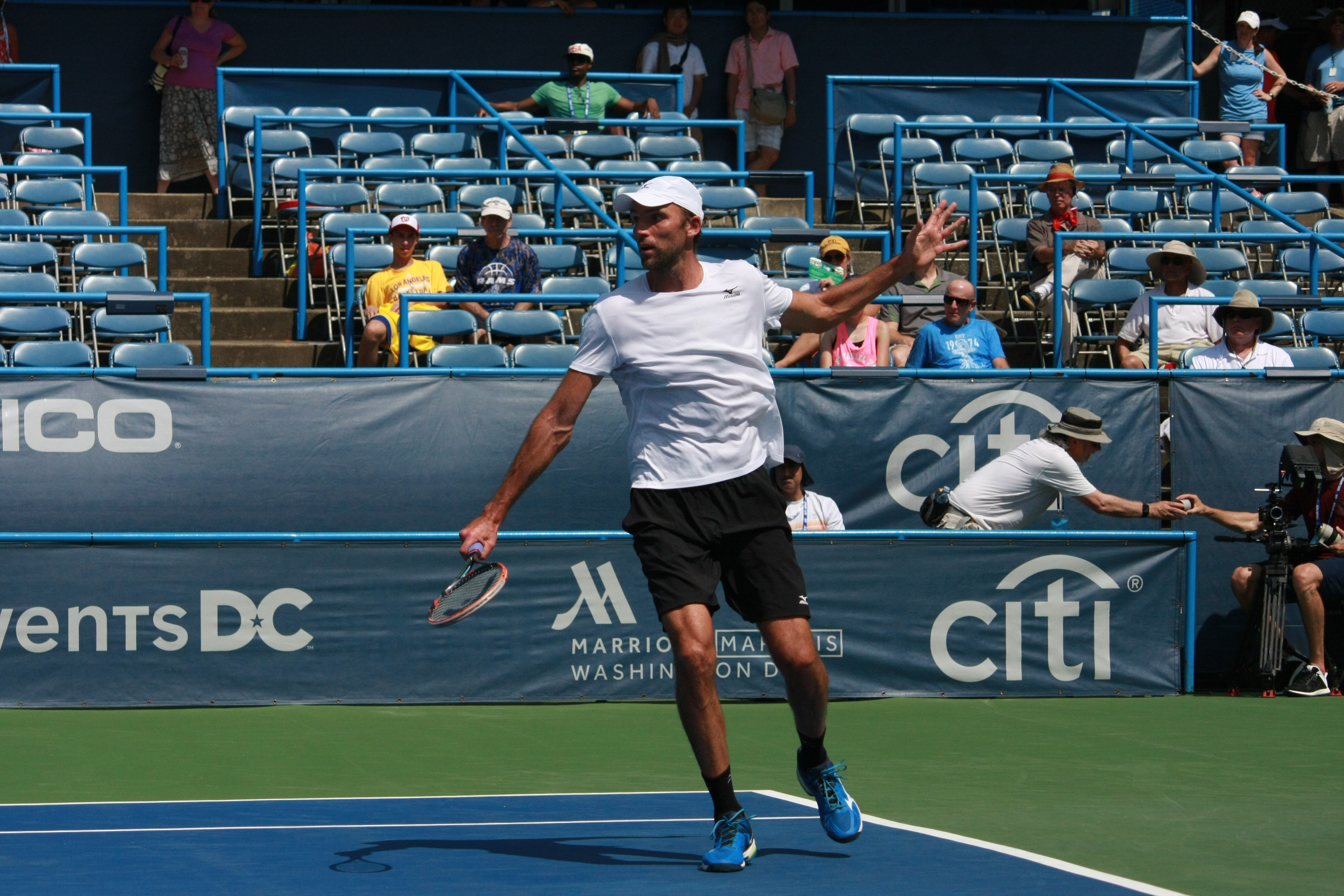 Ivo Karlovic Backhand Slice - 2016 Citi Open