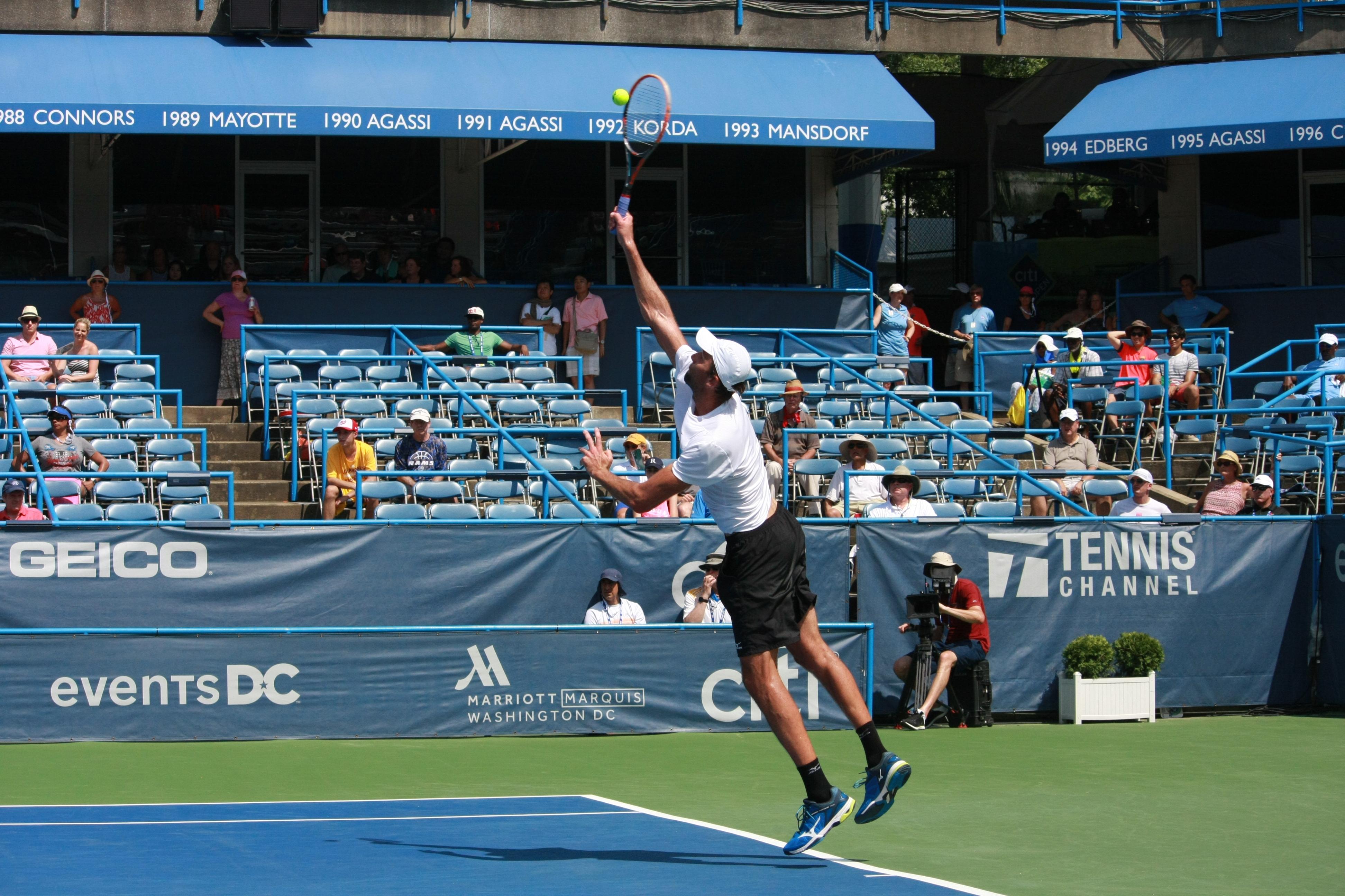 Ivo Karlovic Serve - 2016 Citi Open
