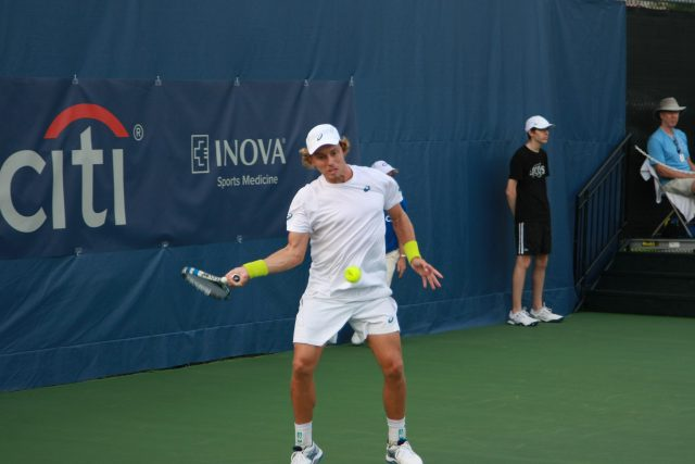 James Duckworth Forehand Citi Open