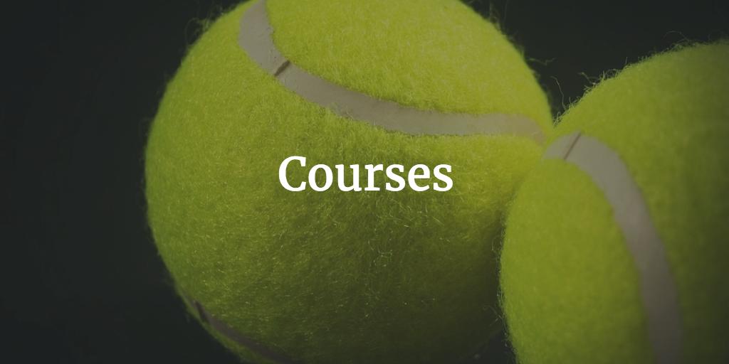 Tennis Courses