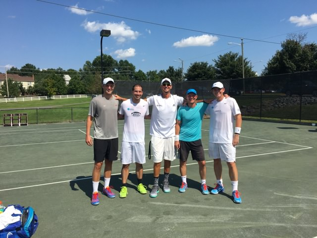 Doubles Invitational Semifinals - Beck/Chiu vs Kemp/Seleznev