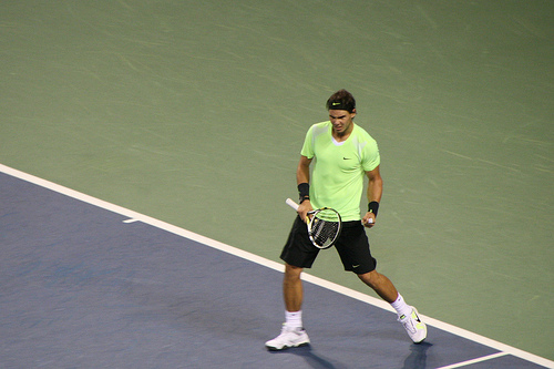 Rafael Nadal is my role model