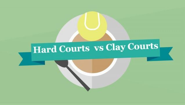 Hard Courts vs Clay Courts Picture