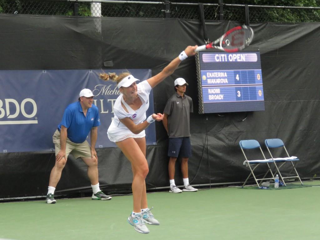 Ekaterina Makarova Citi Open 2015