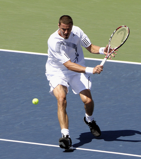 marat ready to volley