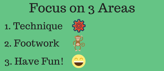Focus on 3 Areas
