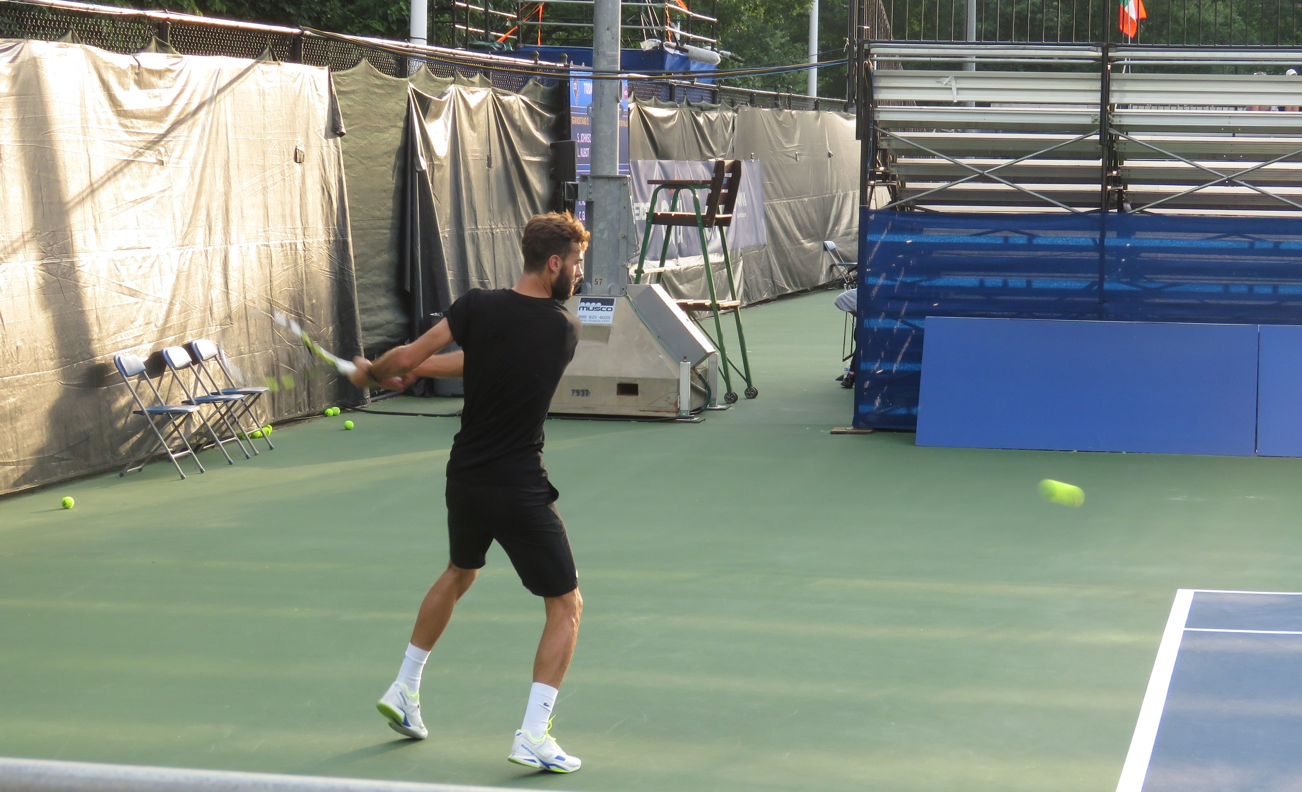 Benoit Paire 2016 Citi Open Practice
