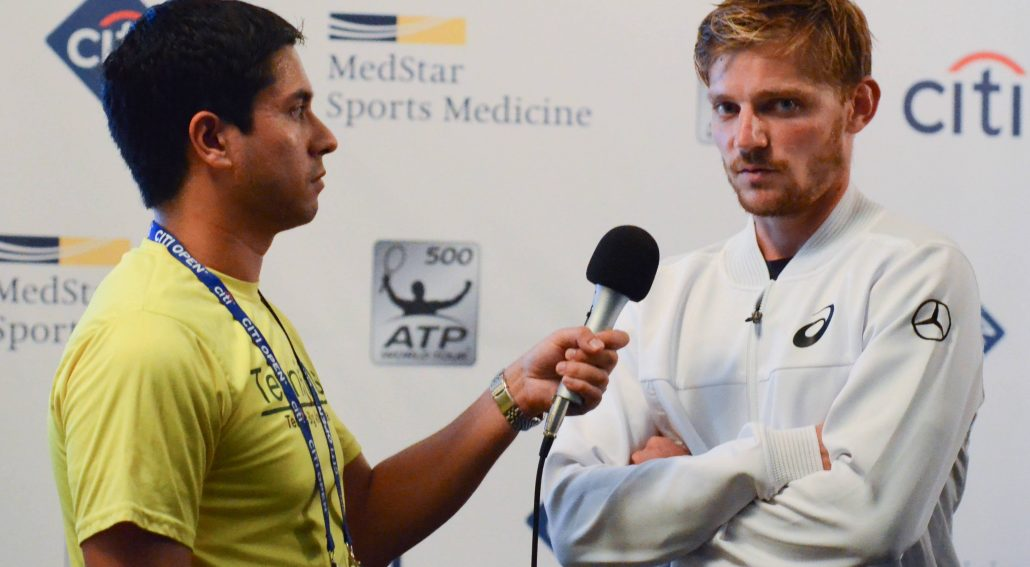 2018 Citi Open: David Goffin Interview