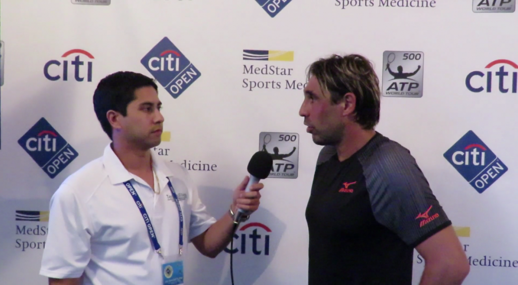 Citi Open 2018: Main Draw Day 2 Marcos Baghdatis