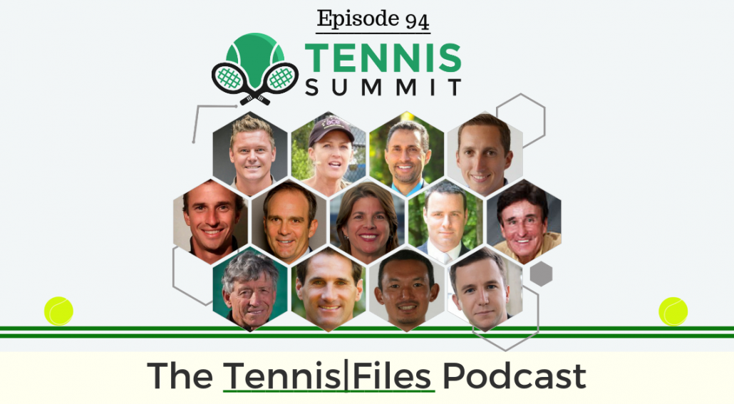 TFP 094: Tennis Summit 2019 Preview of the Sessions