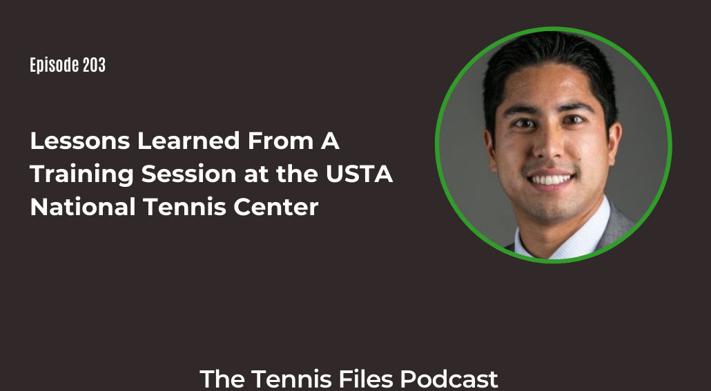 FB TFP 203 Lessons Learned From A Training Session at the USTA National Tennis Center